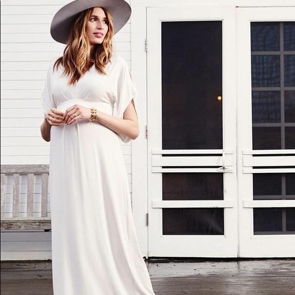 fa2250dd398 Ingrid   Isabel Dresses   Skirts - Ingrid   Isabel Maternity Kimono Maxi  Dress